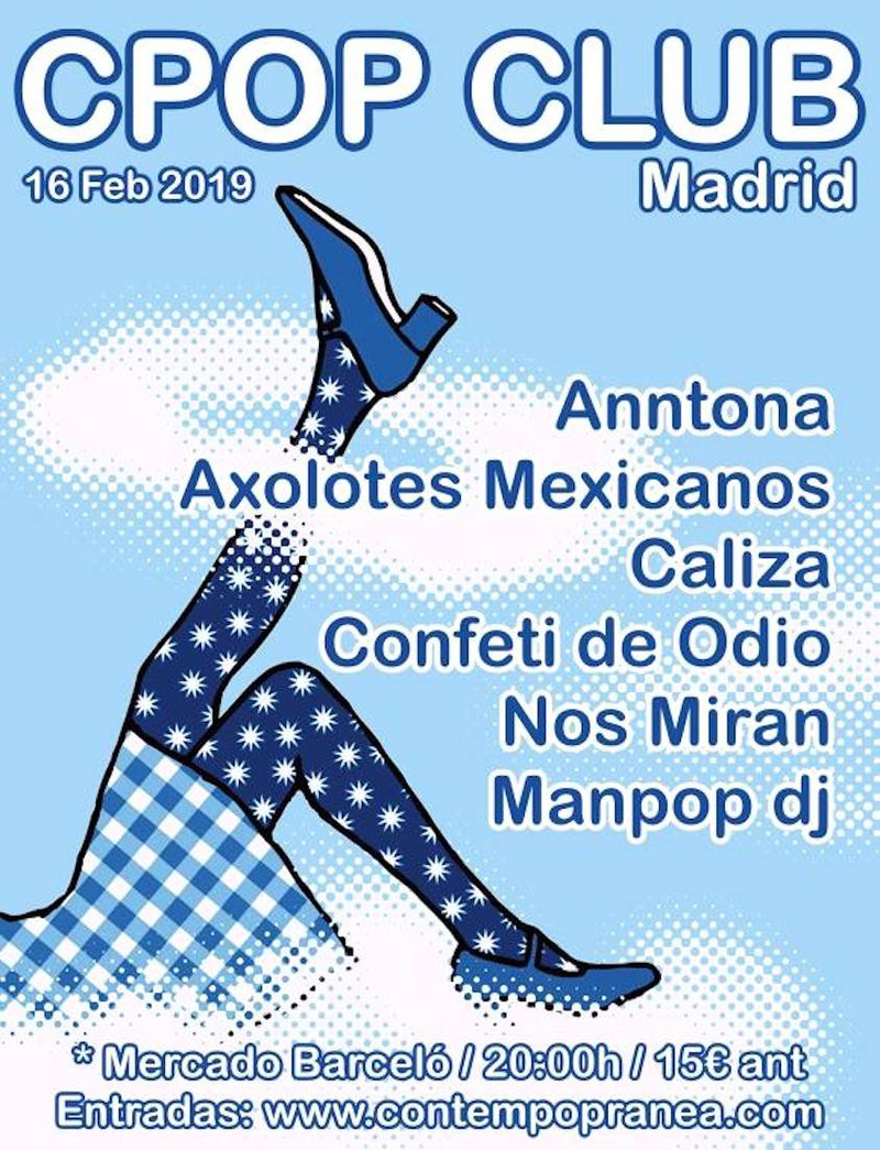 CPOP club Madrid