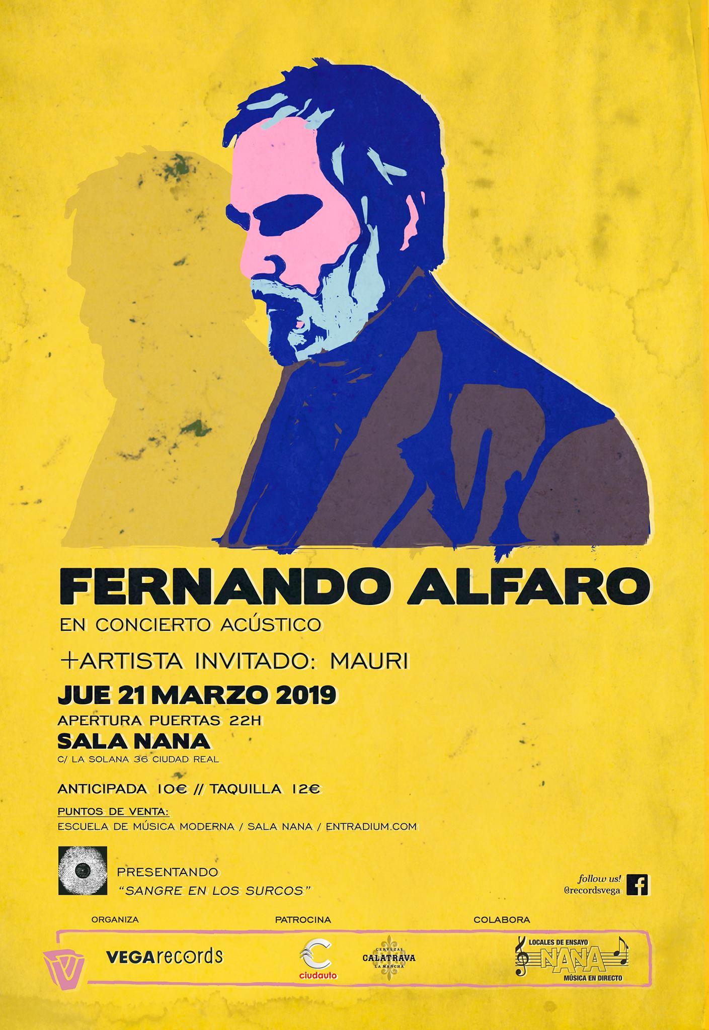 Fernando Alfaro en Ciudad Real