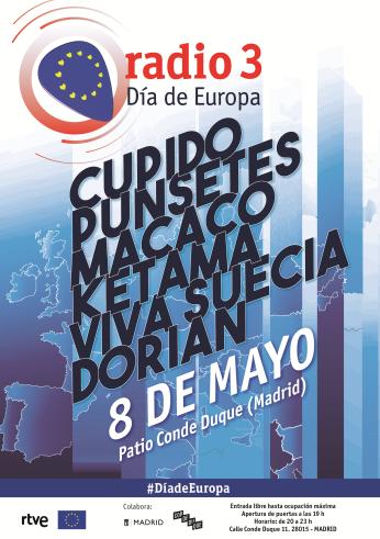 Dorian en el Día de Europa