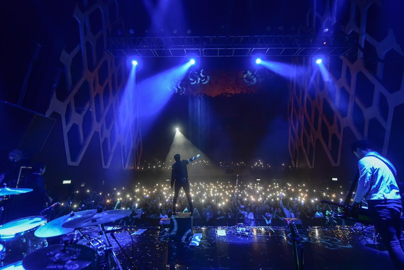 Dorian en directo 2018