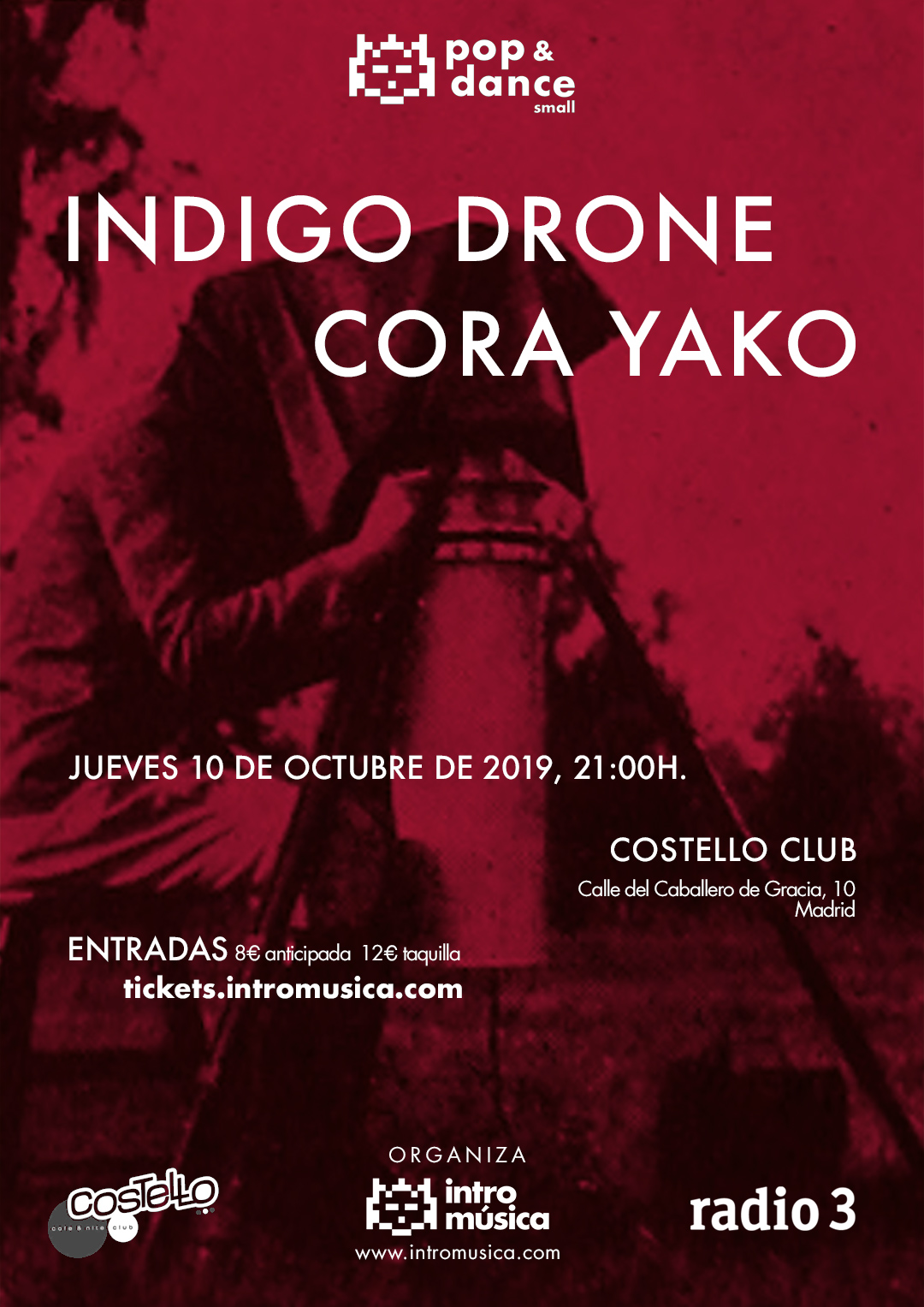 Indigo Drone + Cora Yako en Pop & Dance small