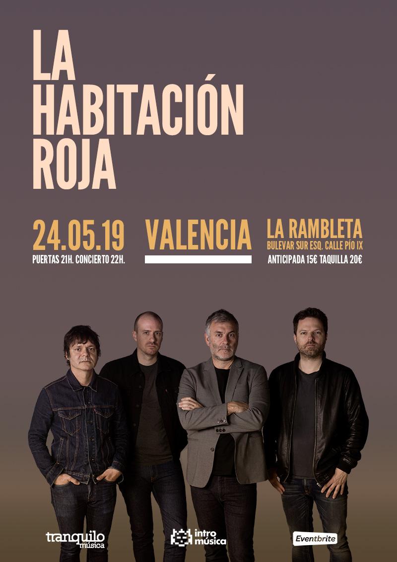 La Habitación Roja en Valencia