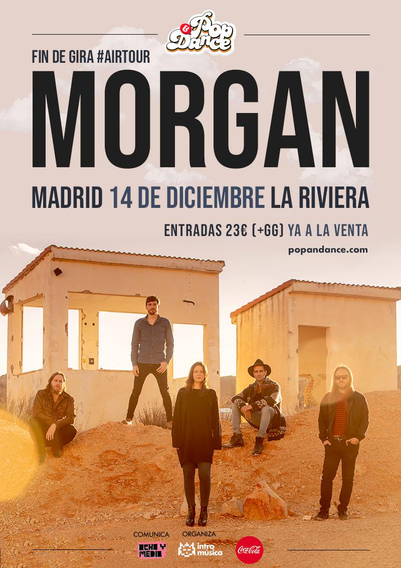 Morgan en Pop&Dance en La Riviera (Madrid)