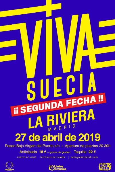 Viva Suecia en Madrid - Segunda Fecha