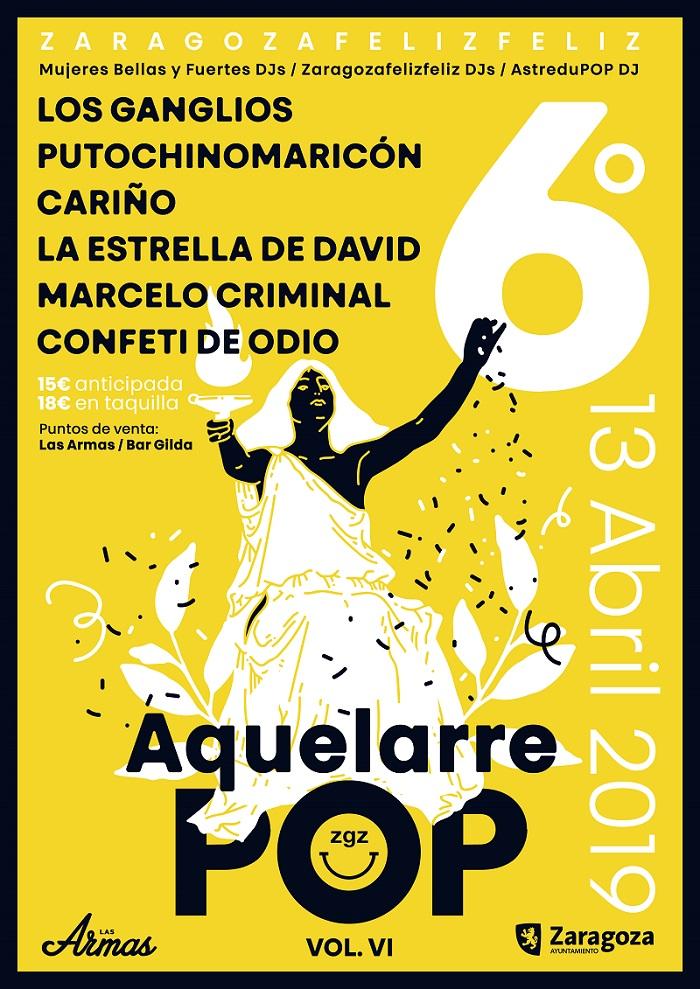 Confeti de Odio en Aquelarre POP (Zaragoza)