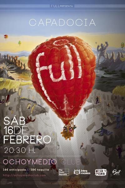 Full presenta Capadocia en Madrid