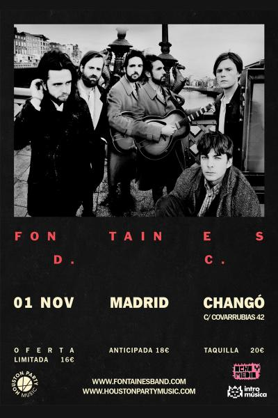 Fontaines D. C. en Madrid