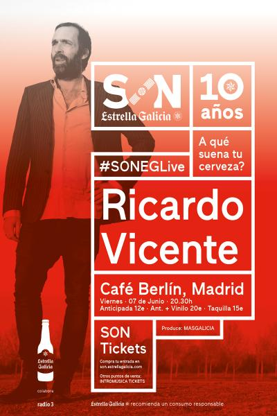 Ricardo Vicente en Madrid
